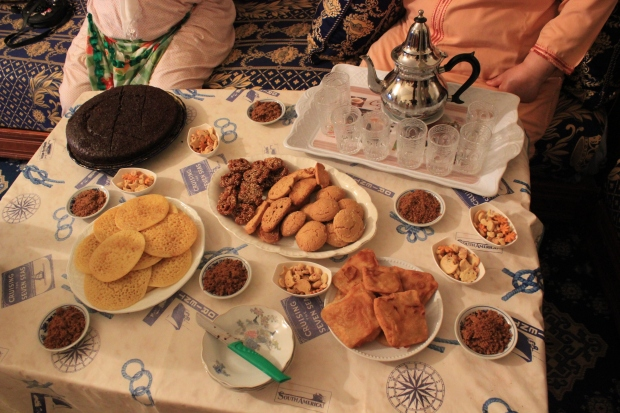 Eid al-Fitr (Feast of the Breaking of the Fast) is also known as Eid Sghair (Little Feast). The Feast is a feast of sweets.